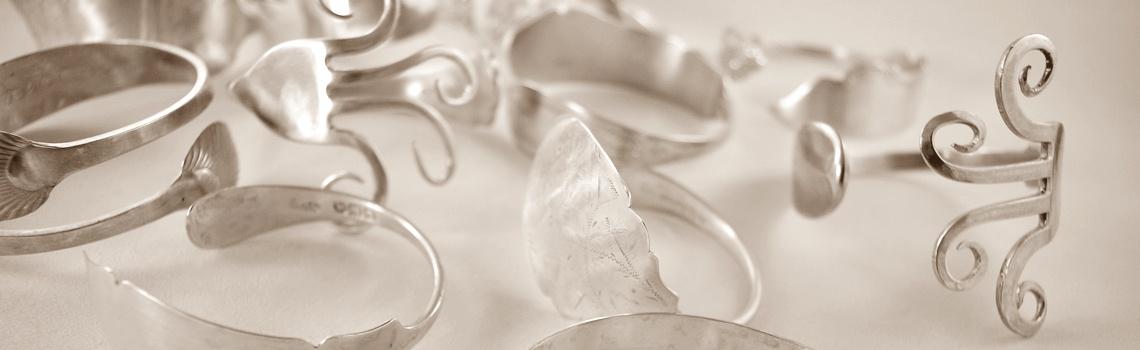 cutlery-silver-bangles
